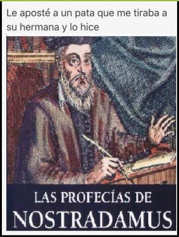 nostradamus - meme