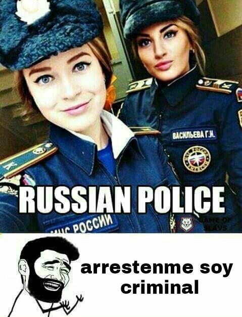 Arrestenme soy un preso, de sus labios - meme