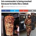 ISIS commander looks like a kebab