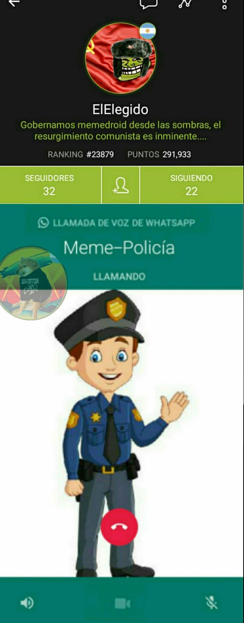 Voy a llamar a la Meme-Policía