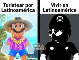 la logica de latinoamerica - meme
