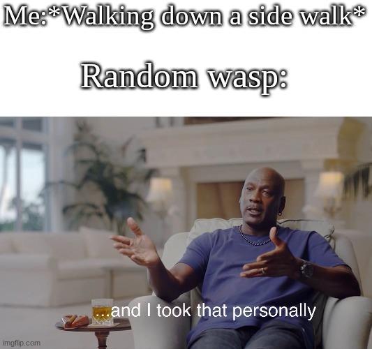 I hate Wasps - meme