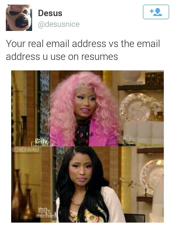 Nicki Minaj is actually decent-looking without all her makeup - meme