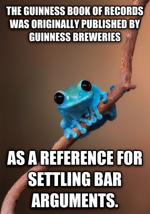 small fact frog - meme