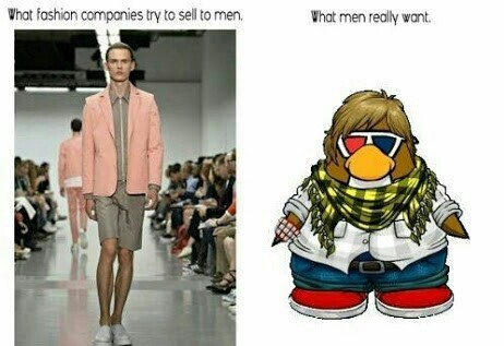 Só no estilo penguin - meme