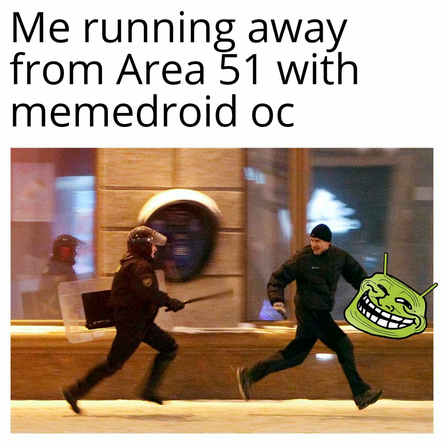 Raid area 51 for memedroid oc