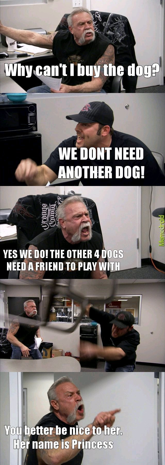 Another dog - meme