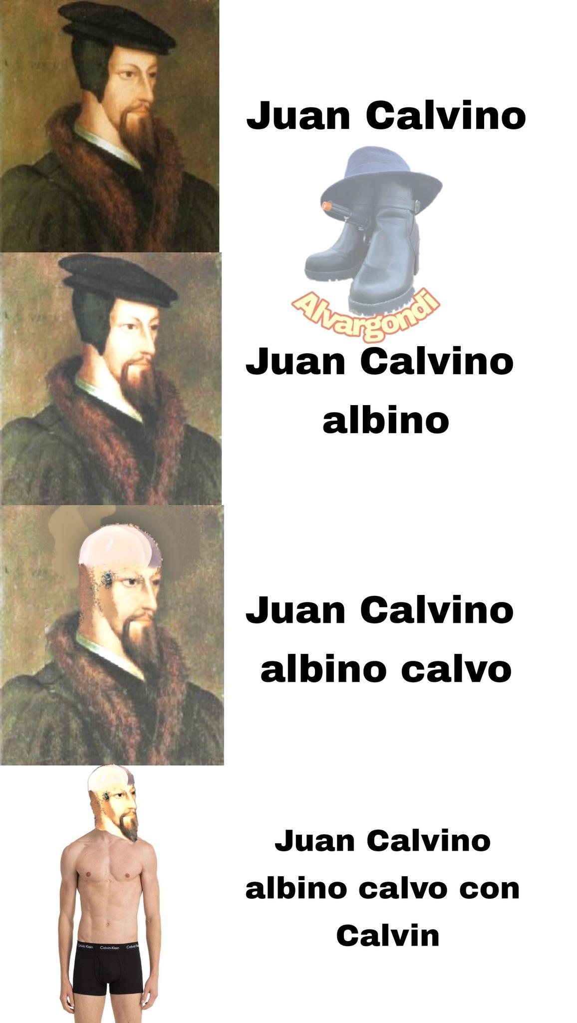 El meme es calvinista