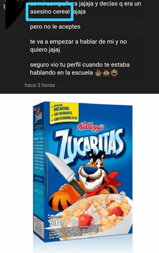 asesino cereal - meme