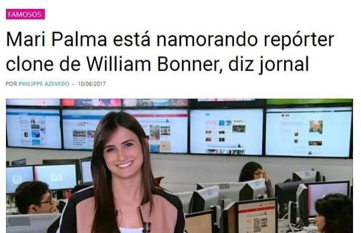 -Qual seu nome? -É Repórter clone do William Bonner - meme