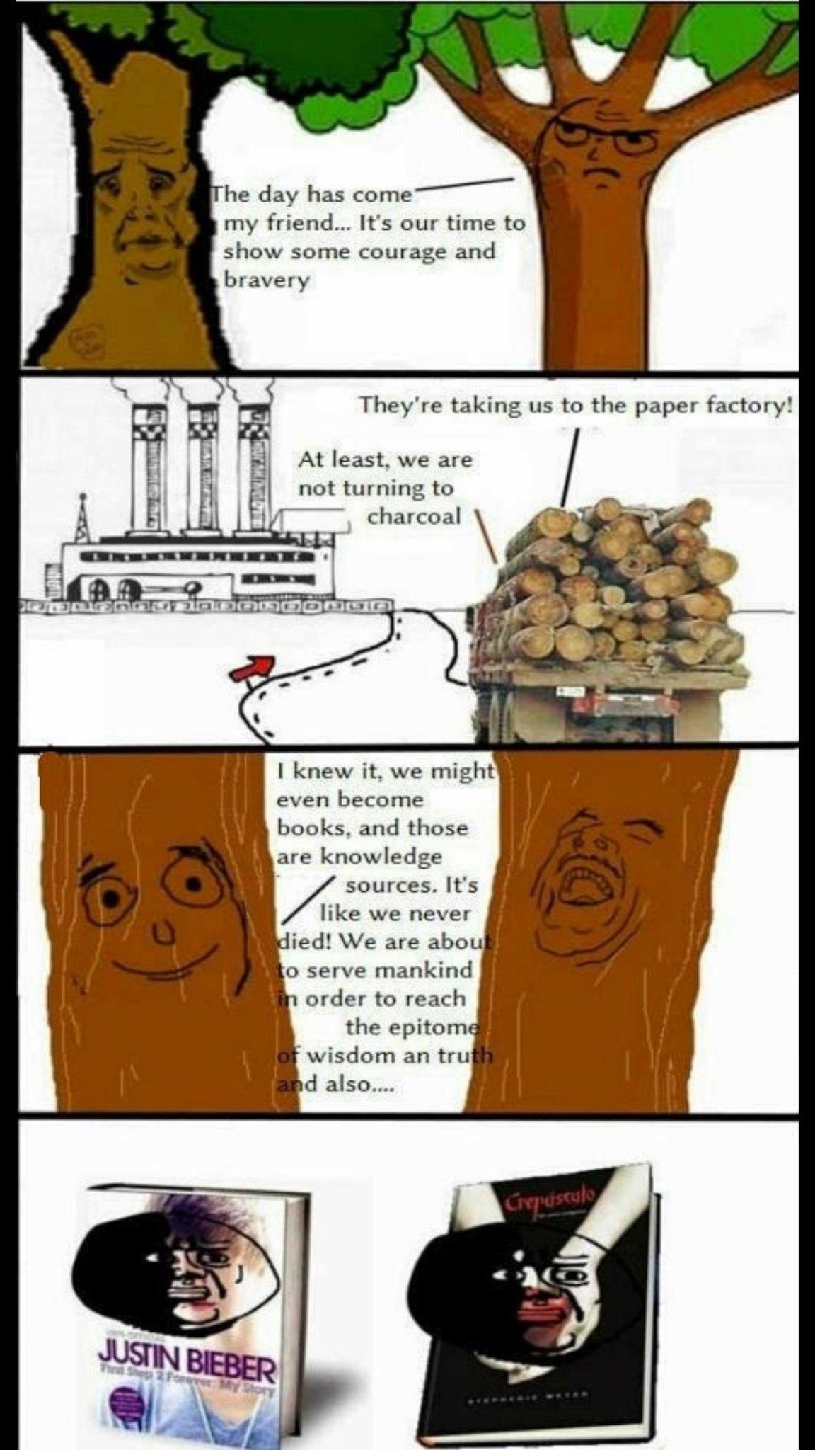 Save the trees, save the bees, save the whales, save those snails. - meme
