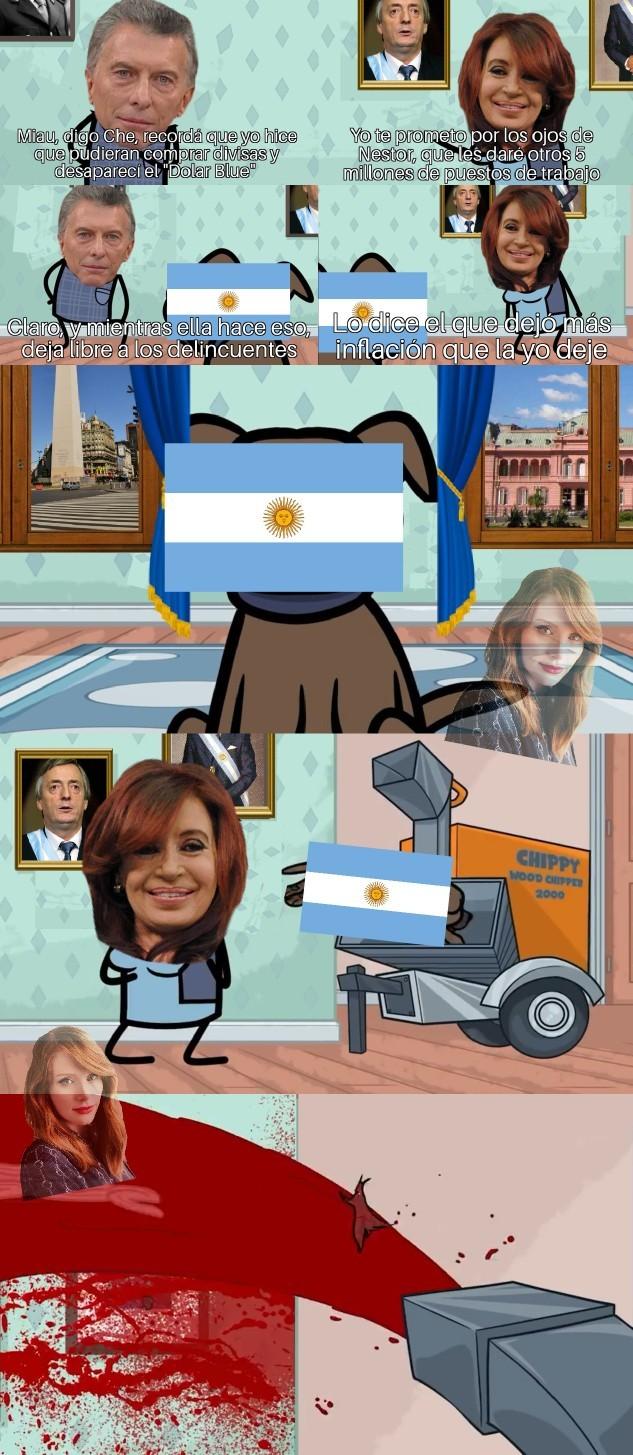 Elecciones en Argentina - meme