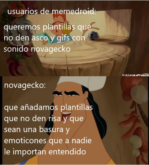 Novagarka hijo de puta - meme