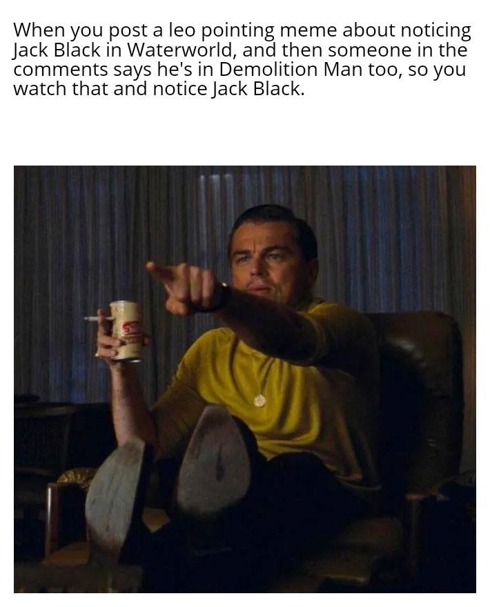 He's in Mars Attacks too - meme
