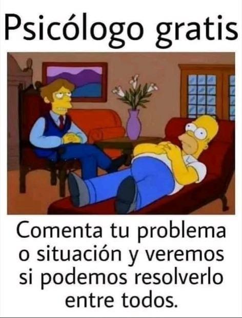 Psicología Online - meme