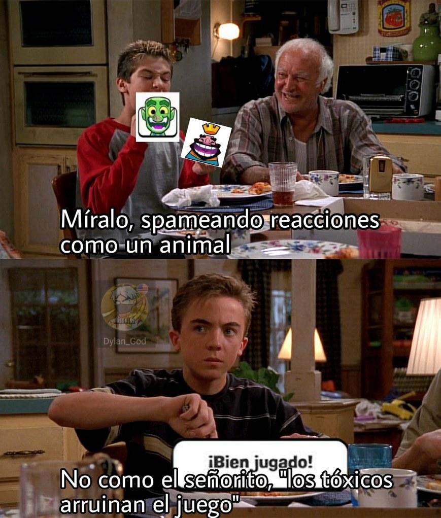 Spamear es de chads - meme