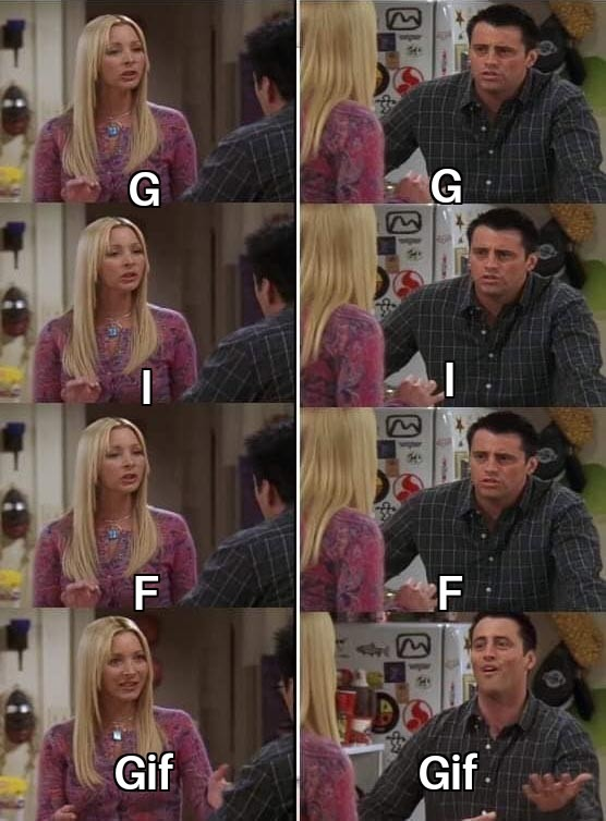 There is only one correct way to pronounce GIF - meme