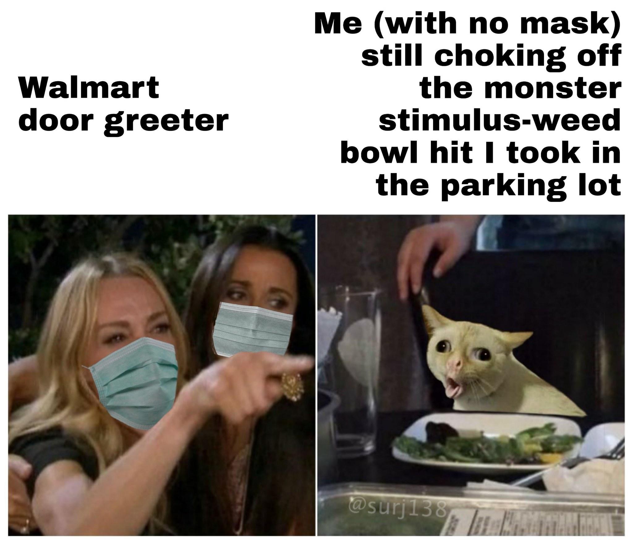 Stimulus weed - meme