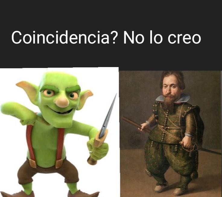 No creo que sea una coincidencia - meme