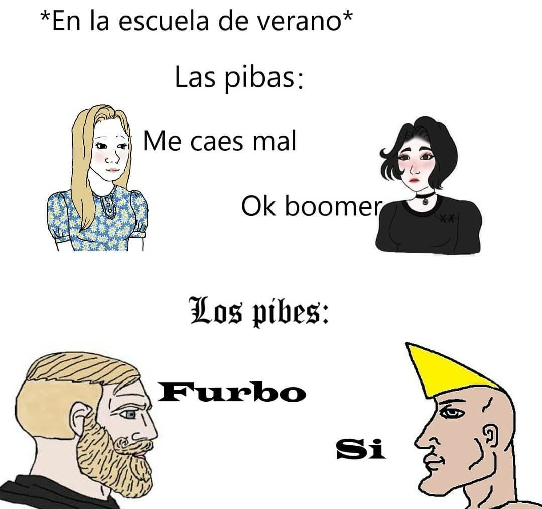 FURBO SÍ - meme