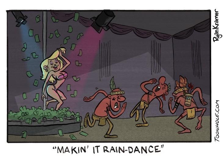 Make it rain - meme