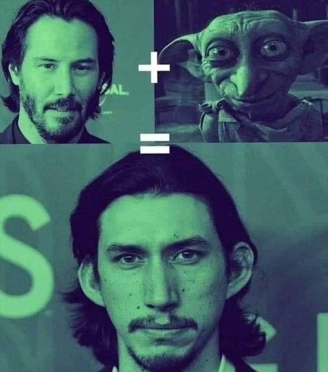 Dobby tiene familia - meme
