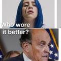 Giuliani Is Legit Melting