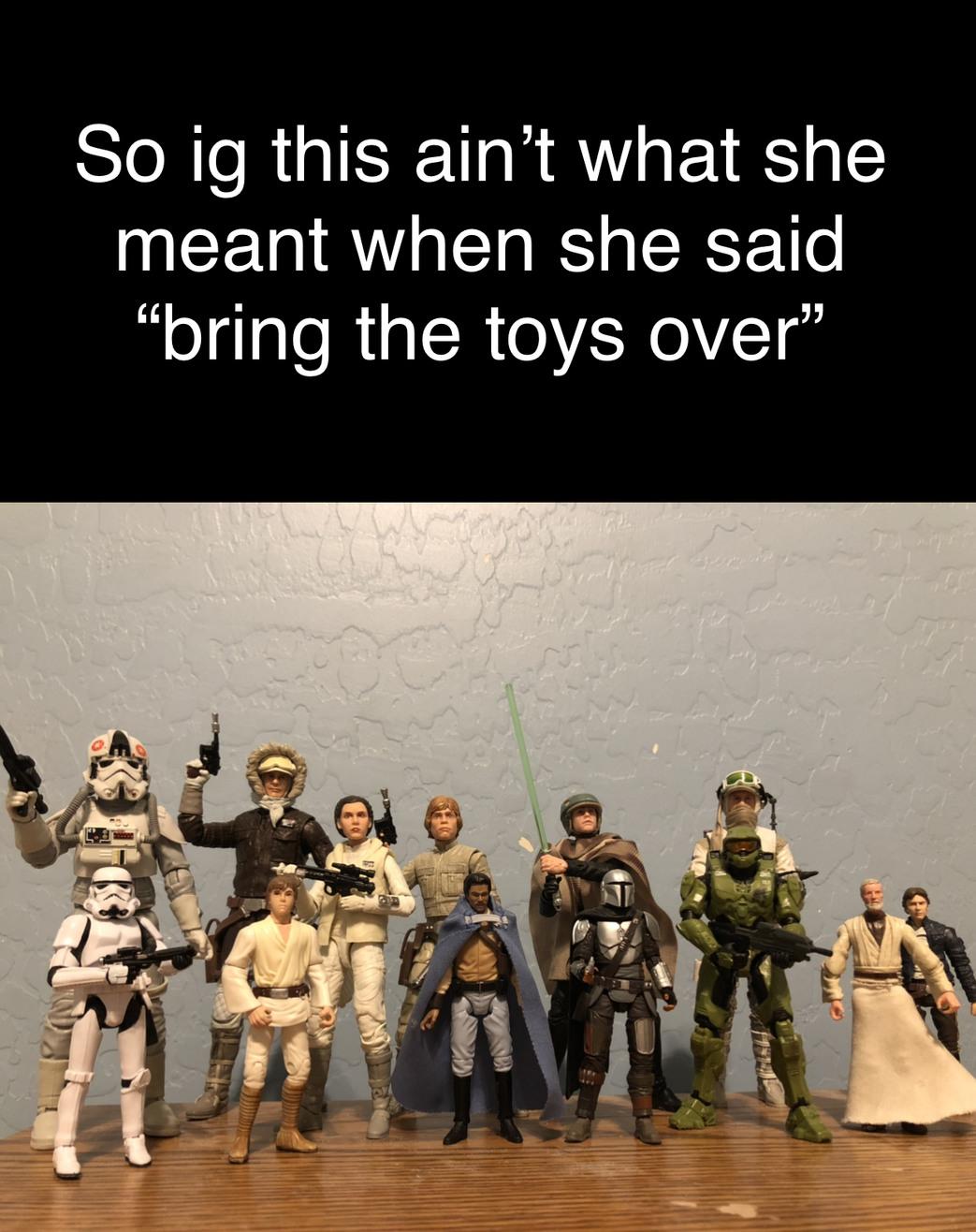 Wrong toys - meme