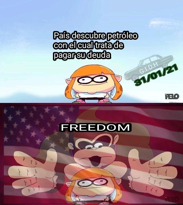 USA: Te falta libertad - meme