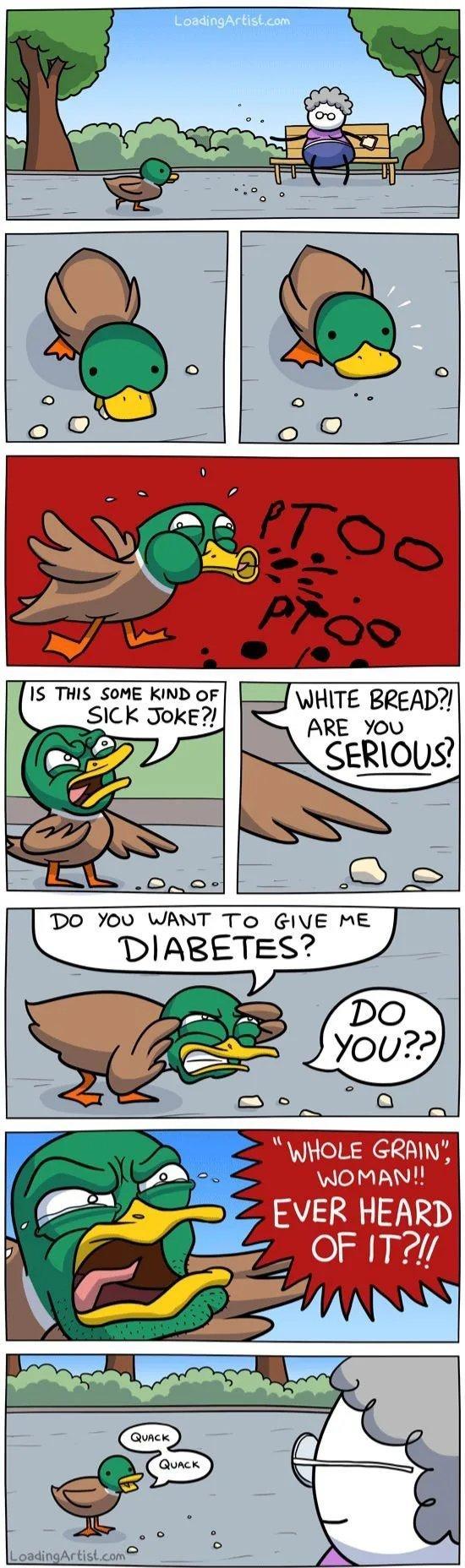 Quack Quack. - meme