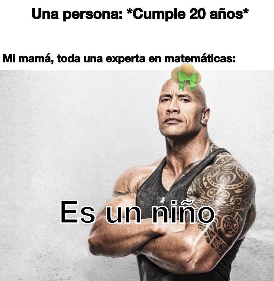 Mi mamá: - meme