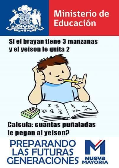 Sólo pasa en Chile :V - meme