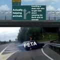 Peta are asshole