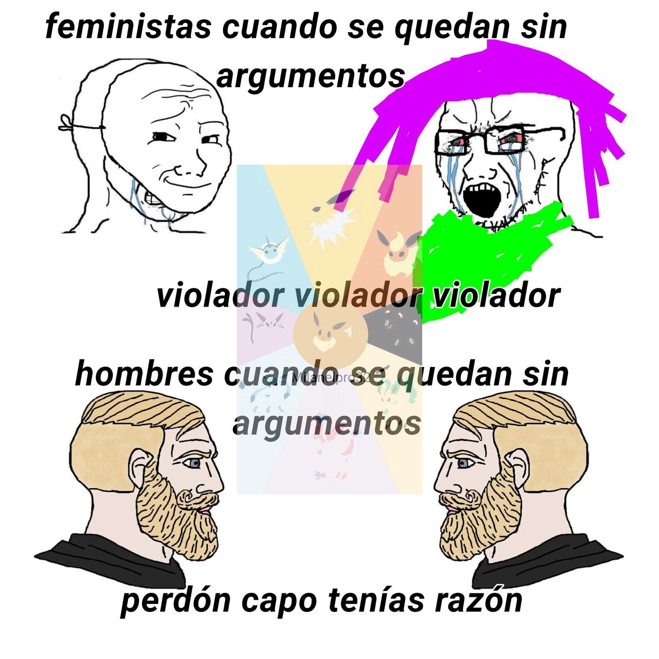 Ojalá no lo vea ninguna feminista - meme