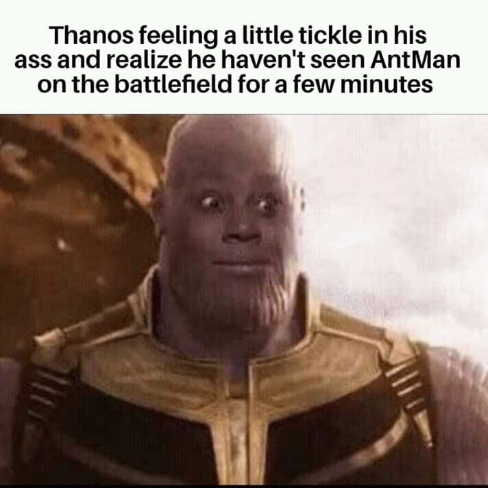 Now I want Keenan Thompson to play Thanos... - meme