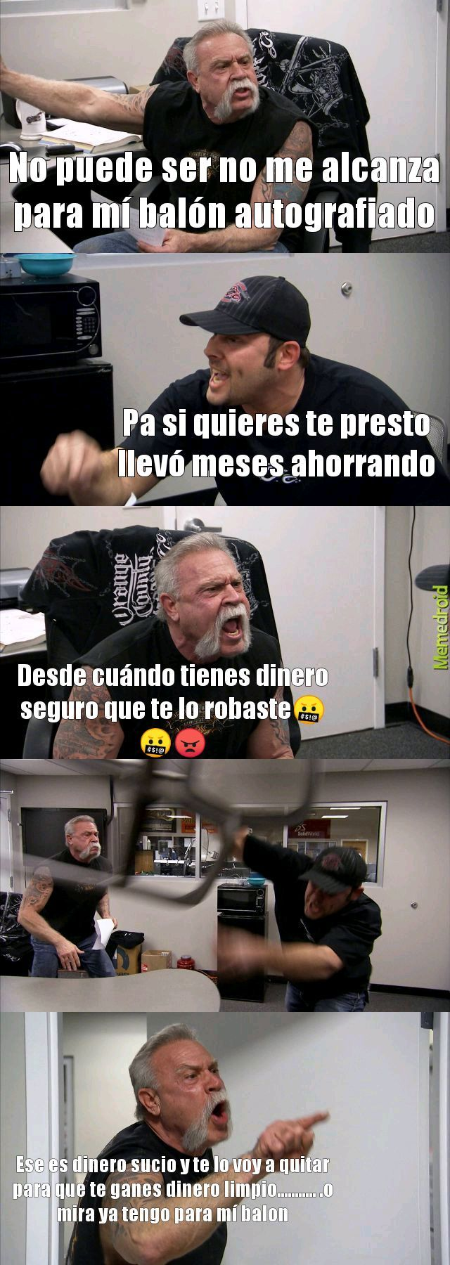 Ahorro - meme