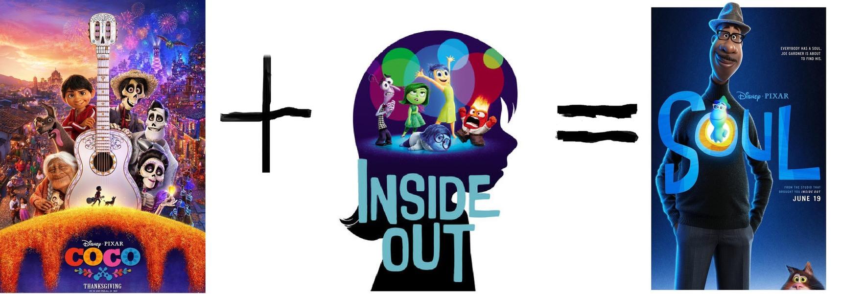 La trilogía de existencialismo de pixar - meme
