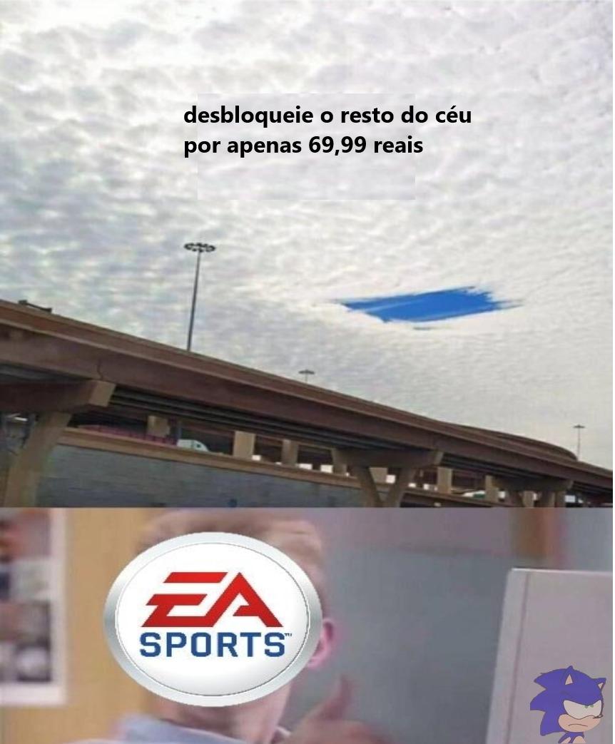 titulo foi xingar a EA - meme