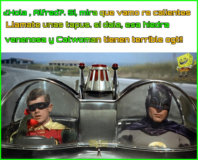 Vamos Robin,  a la Batipartuza!! xd - meme