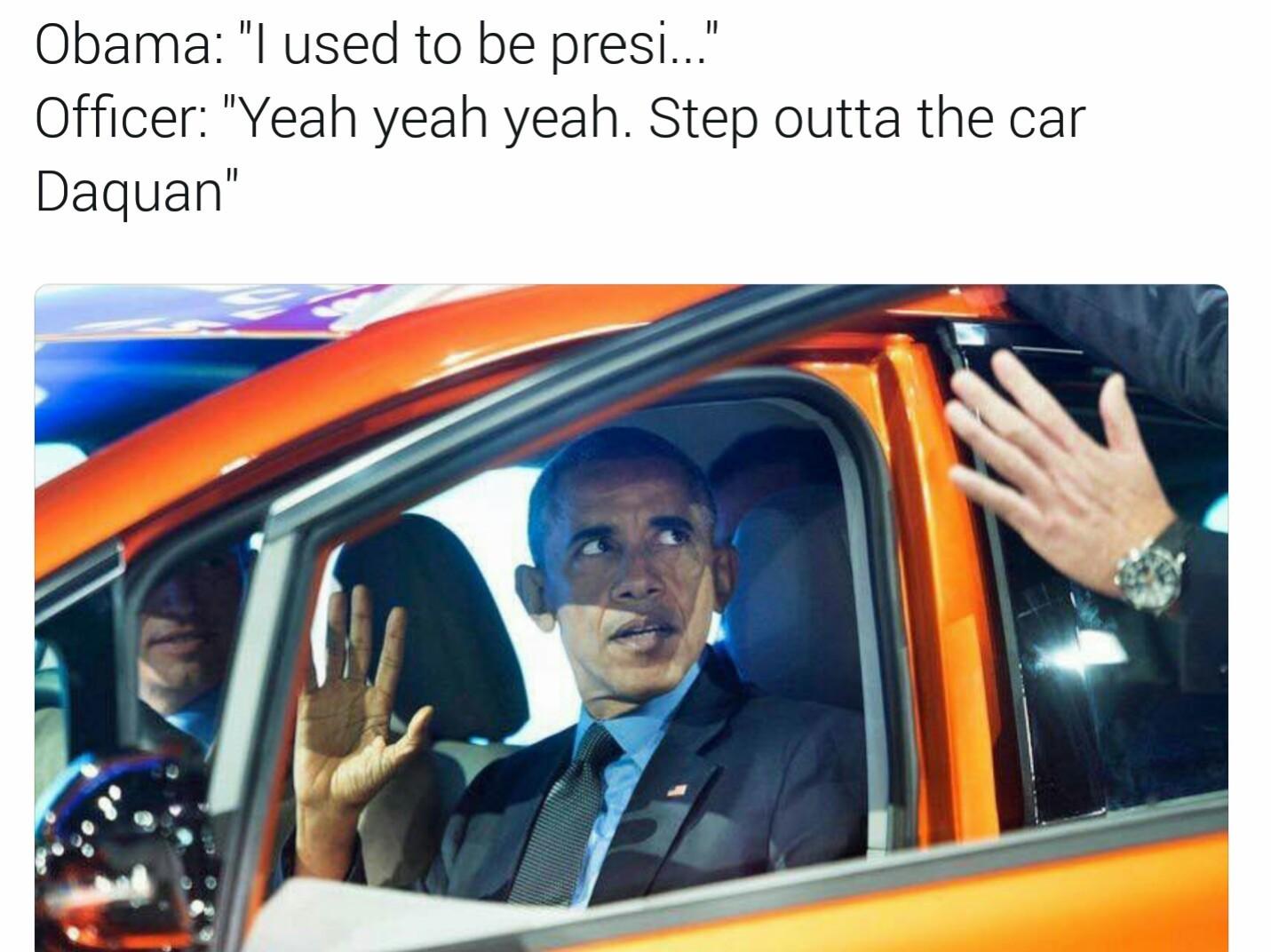 We fucked up america - meme