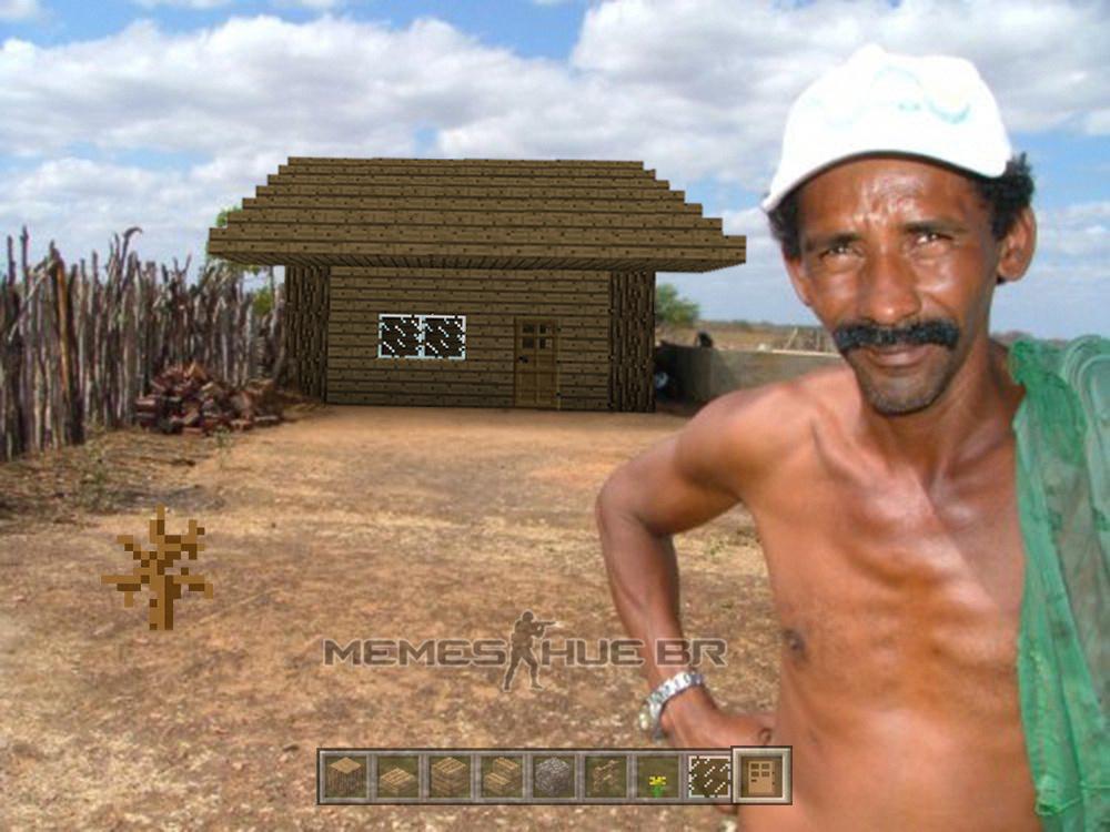 Construir casinha no nordeste - meme