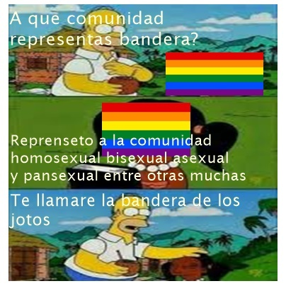 pinches pansexuales - meme