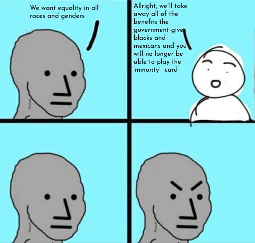 minority no more - meme