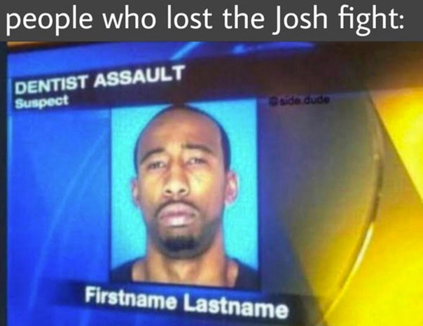 Lost his name - meme