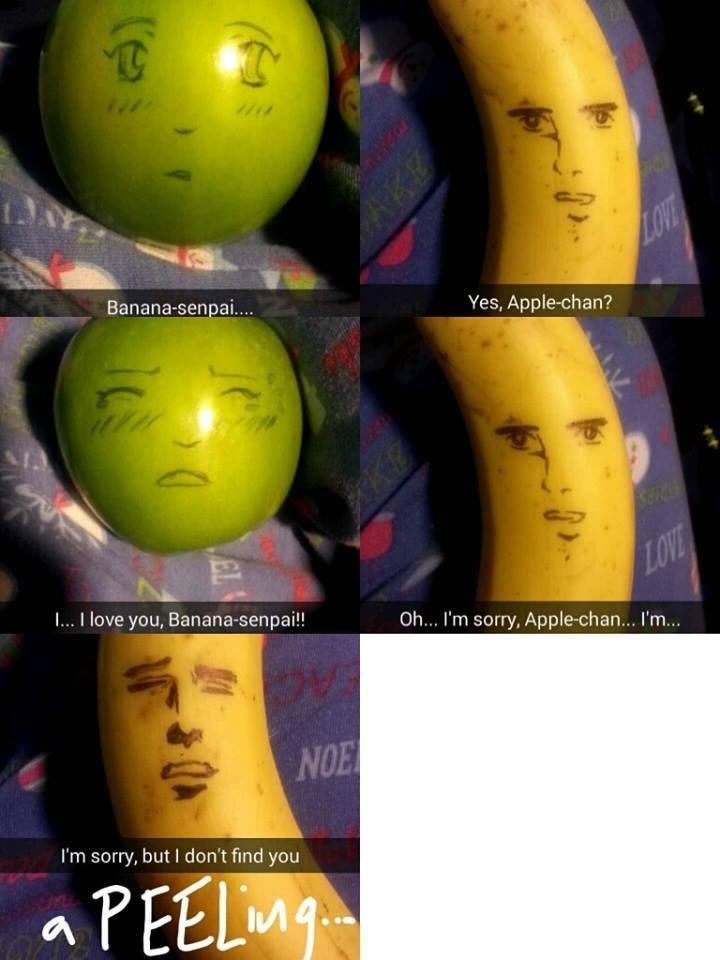 what annoying orange should've been - meme