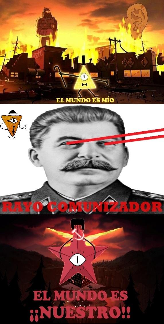 Himno de la URSS sonando en el fondo - meme
