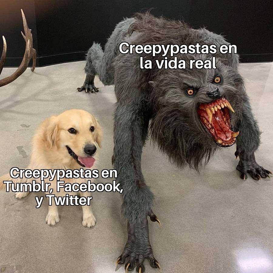 Regrese al fandom de los Creepypastas (AYUDA-) - meme