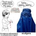 Me repugnan las costumbres extremistas islamicas