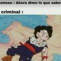 Batman hace mas daño que los criminales :v