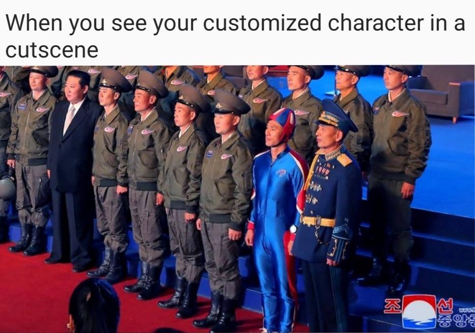 North Korea more like listen more like... hey HEY MORE LIKE BASED KOREA eeeehehehehehe - meme